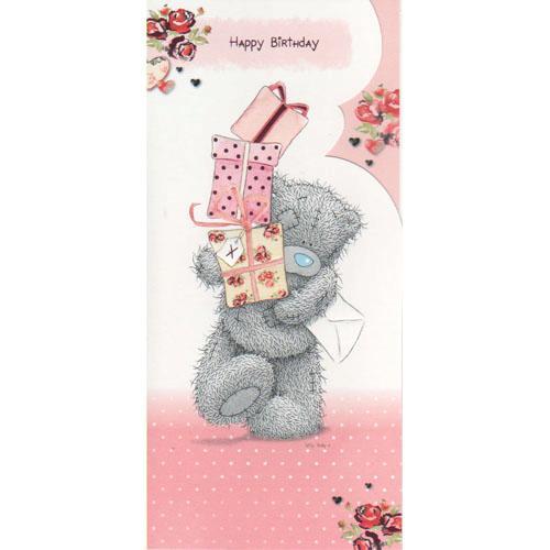 Мишка Тедди Me to You открытка С Днем рождения
