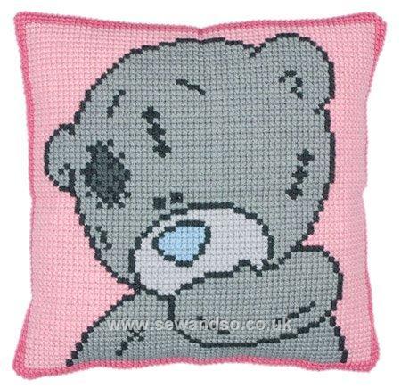 Мишка Тедди, вышивка с мишкой,
