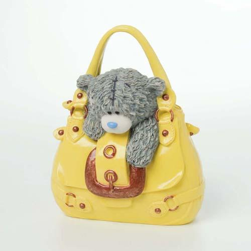 Мишка Тедди Me to You в желтой сумке.