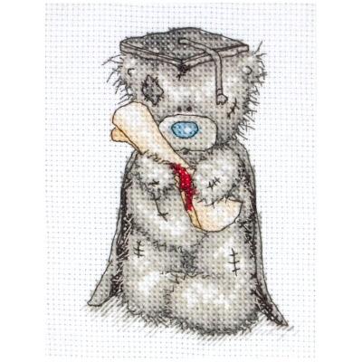 Рхема вышивки крестом 'Мишка
